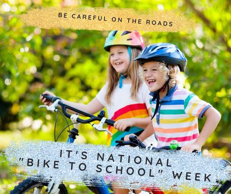 National Bike To School Week