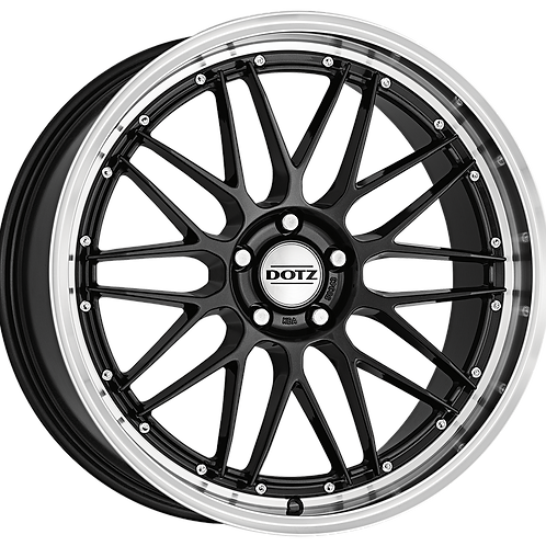 ORE9N0FL35 Dotz Revvo Dark Gunmetal / Polished Lip 19 Inch 9.5J 35 Offset 5x114.