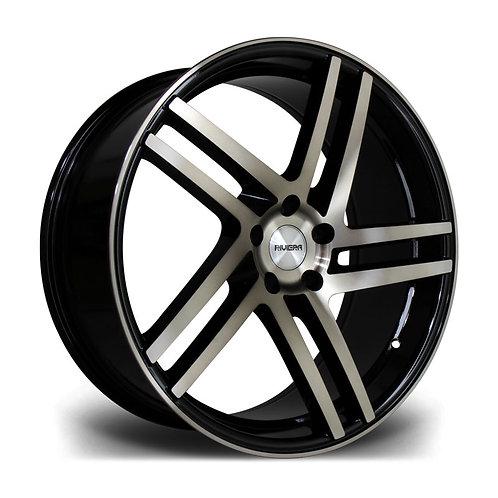 Riviera Twist 20x8.5 5x112 35 73.1 Black Bronze