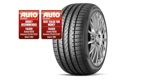 FALKEN AZENIS FK510 PRAISED BY AUTO ZEITUNG: 'HIGHLY RECOMMENDED' AND 'BEST VALUE FOR MONEY'