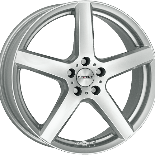 TTYF0SA38 Dezent TY Silver 18 Inch 7.5J 38 Offset 5x114.3 71.6mm