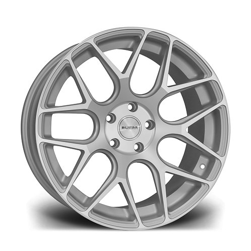 Riviera Rv160 19x8.5 5x120 33 72.5 Silver Polished