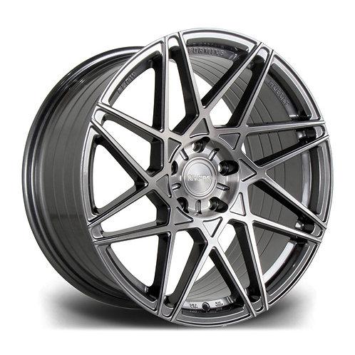 Riviera Rf2 19x9.5 5x112 42 73.1 Carbon Grigio