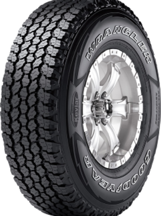 235/75TR15 GOODYEAR WRANGLER AT ADVENTURE 109T XL Rf=No 4X4/SUV  EU=E:F:71
