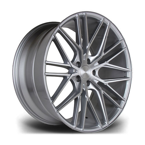 Riviera Rv130 20x10 5x120 Et38 74.1 Silver Brushed