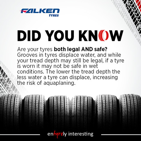 Free Tyre Safety Check At Sunset Tyres