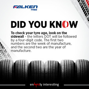 Check Tyre Age at Sunset Tyres