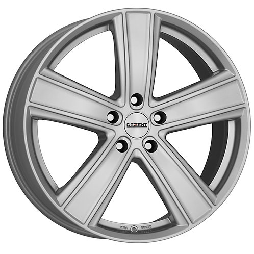 TTH9L8SA35 Dezent TH Silver 19 Inch 8.5J 35 Offset 5x112 70.1mm