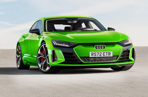 Goodyear equips the fully electric Audi e-tron GT quattro and RS e-tron GT with Eagle F1 Asymmetric.