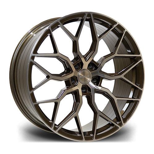 Riviera Rf108 23x10.5 5x120 Et 35 72.6 Bronze Double Dark Tint
