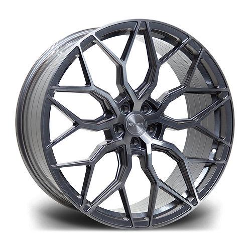 Riviera Rf108 20x8.5 5x120 Et 35 72.5 Carbon Grigio