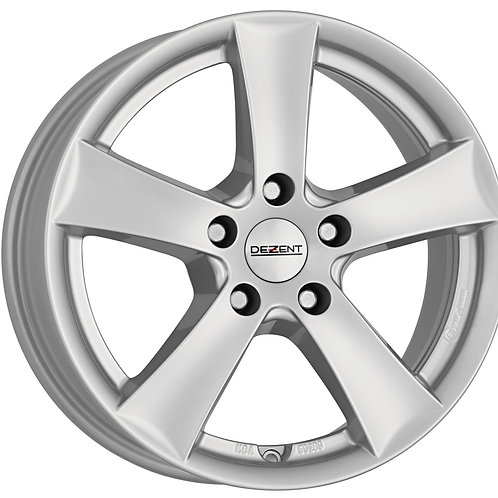 TTXY8SA49V Dezent TX Silver 17 Inch 7J 49 Offset 5x112 57.1mm