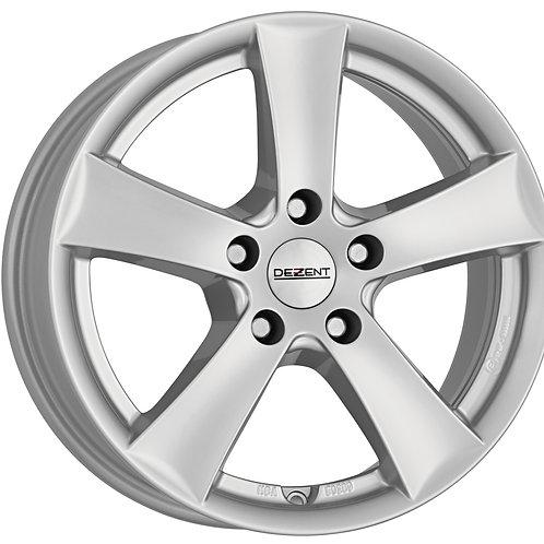 TTXF0SA50 Dezent TX Silver 18 Inch 7.5J 50 Offset 5x114.3 71.6mm