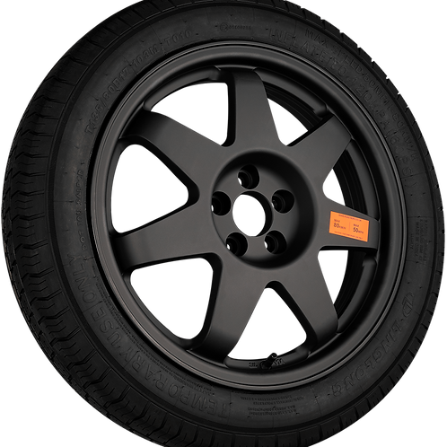 RH168 Road Hero Space Saver 1358017 Tyre and Alloy Wheel Kit