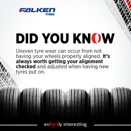Sunset - Wheel Alignment - Pulling or Wearing Tyres?