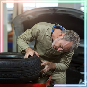 Tyre Check At Sunset Tyres