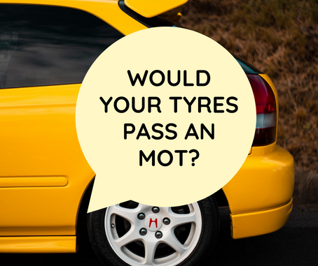 Tyre Check Before MOT At Sunset Tyres