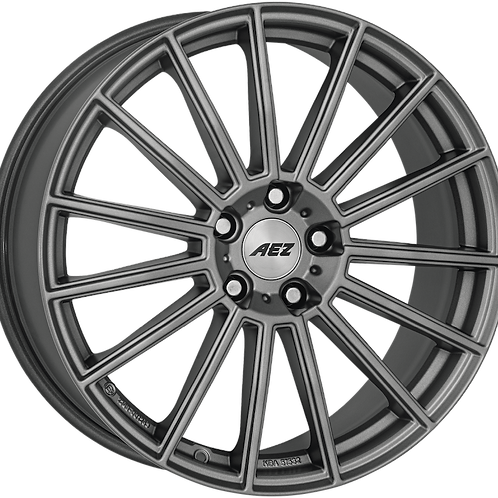 ASM0LHGA475E AEZ Steam Graphite Matt Graphite 20 Inch 8.5J 47 Offset 5x108 63.4m