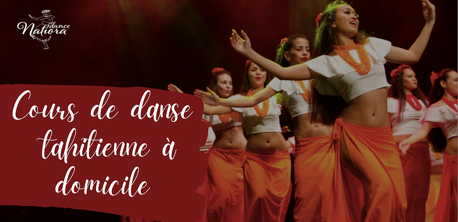 Cours de danse tahitienne à domicile - Natoria Dance - Bordeaux