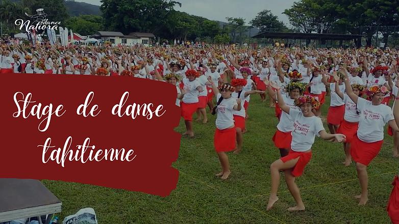 Stage de danse tahitienne à domicile - Natiora Dance - Bordeaux