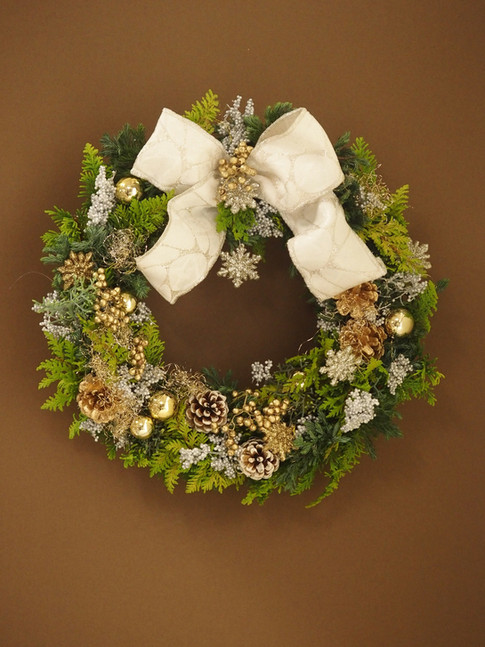 毎年楽しみに!クリスマスリース