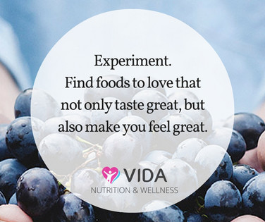 Try one new food or recipe every now and then. We often eat the same foods repeatedly and risk missing out on foods that are amazing. Give it a try....you might just find something new that you love to eat.