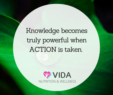 Seeking knowledge is certainly important, but it makes its most powerful impact when it is acted upon. Whatever your goal, take action now- turn those recipe blogs into food preparation, a gym timetable into turning up to a class, a meal plan into shopping for ingredients, dream holiday research into opening a dedicated savings account. Get it done.