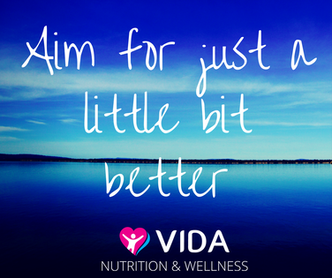 No matter where we are at, we can all do a little bit better, right? Next time you set a health goal, it doesn't need to be fancy or complicated. Instead, aim for just a little bit better than right now. Over time, this will add up to a whole heap of improvement.