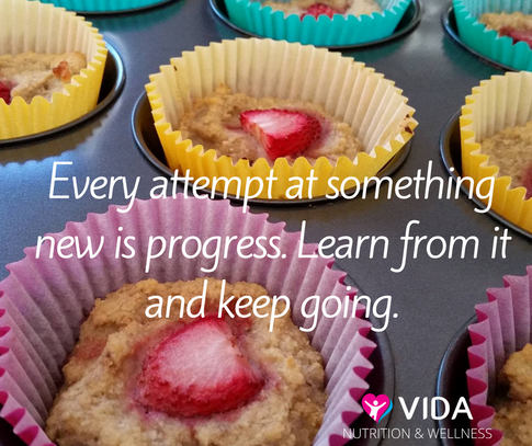 We all experience little setbacks in anything we do. The key is to keep going anyway.