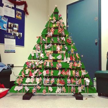 Famous VetSoc Christmas Tree
