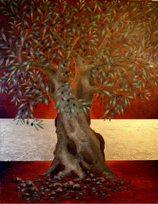 Olive Tree of fire ~ SOLD