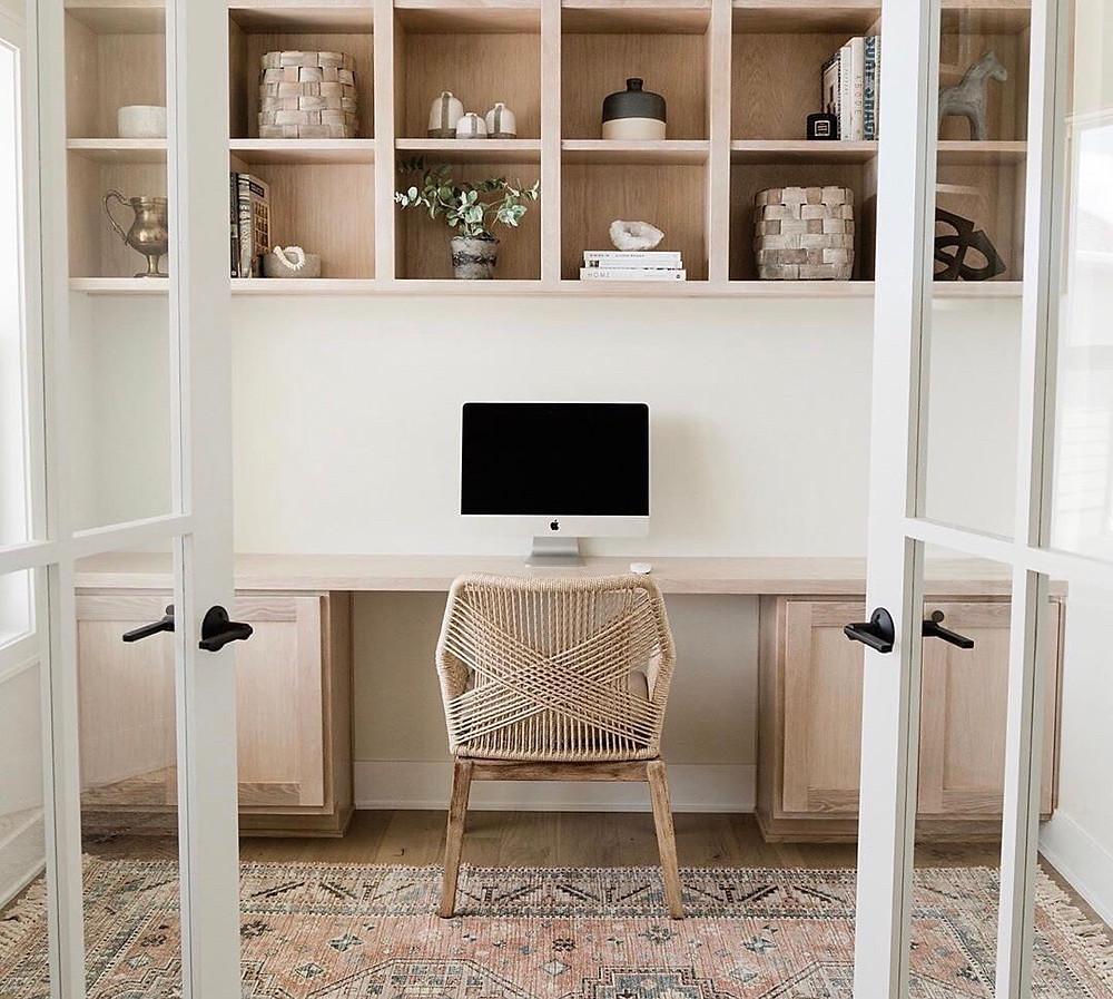 See through διαχωριστικά αποτελούν μια βολική λύση για το γραφείο στο σπίτι σας   Atlanta Interior Designer