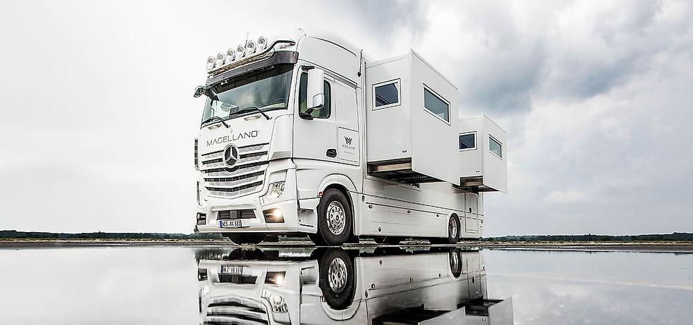 MAGELLANO: Το Actros ως αυτοκινούμενο τροχόσπιτο