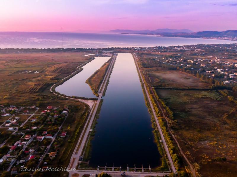 Το Ολυμπιακό Κωπηλατοδρόμιο απο τον Drone Photographer Χρήστο Μαλέτσικα