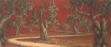 Olive Tree Forest ~ SOLD