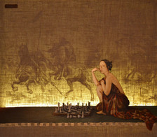 The Chess Game (night)