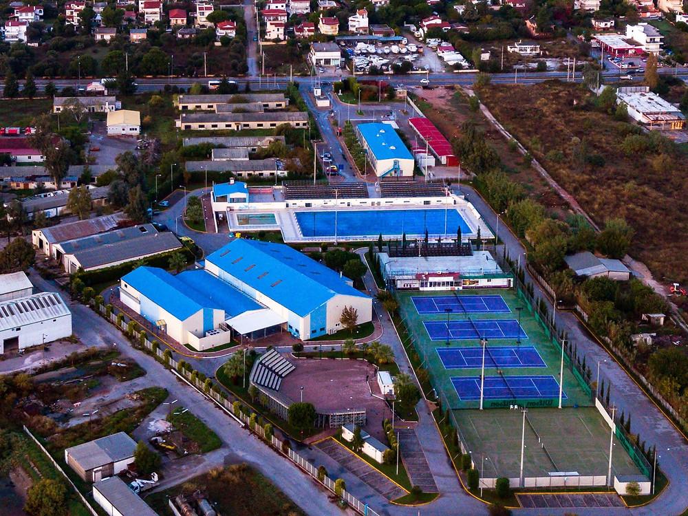 Το Αθλητικό Πάρκο Νέας Μάκρης θα είναι ανοιχτό για συγκεκριμένα αθλήματα | Φωτ. Χρήστος Μαλέτσικας