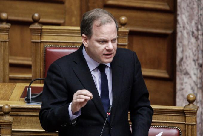 Ο υπουργός Υποδομών και Μεταφορών Κωνσταντίνος Καραμανλής (EUROKINISSI/ΓΙΩΡΓΟΣ ΚΟΝΤΑΡΙΝΗΣ)