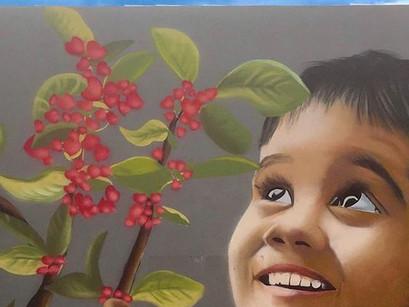 Συγκινητικό γκράφιτι για τις 102 ψυχές που χάθηκαν στο Μάτι