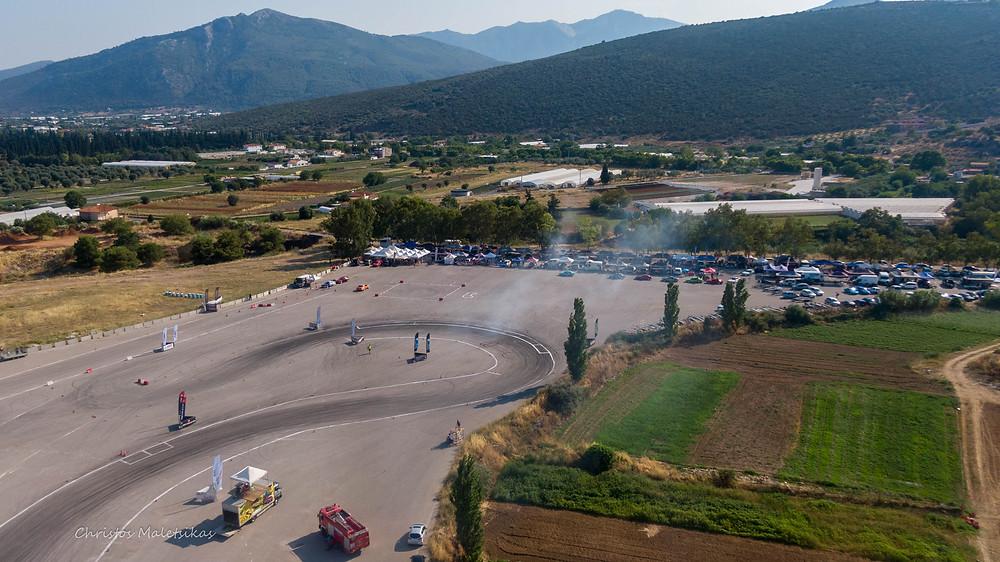 Ο 1ος αγώνας drift έγινε κεκλεισμένων των θυρών λόγω των περιοριστικών μέτρων. Αναμένουμε τους επόμενους αγώνες τον Σεπτέμβριο! | Φωτ.: Χρήστος Μαλέτσικας