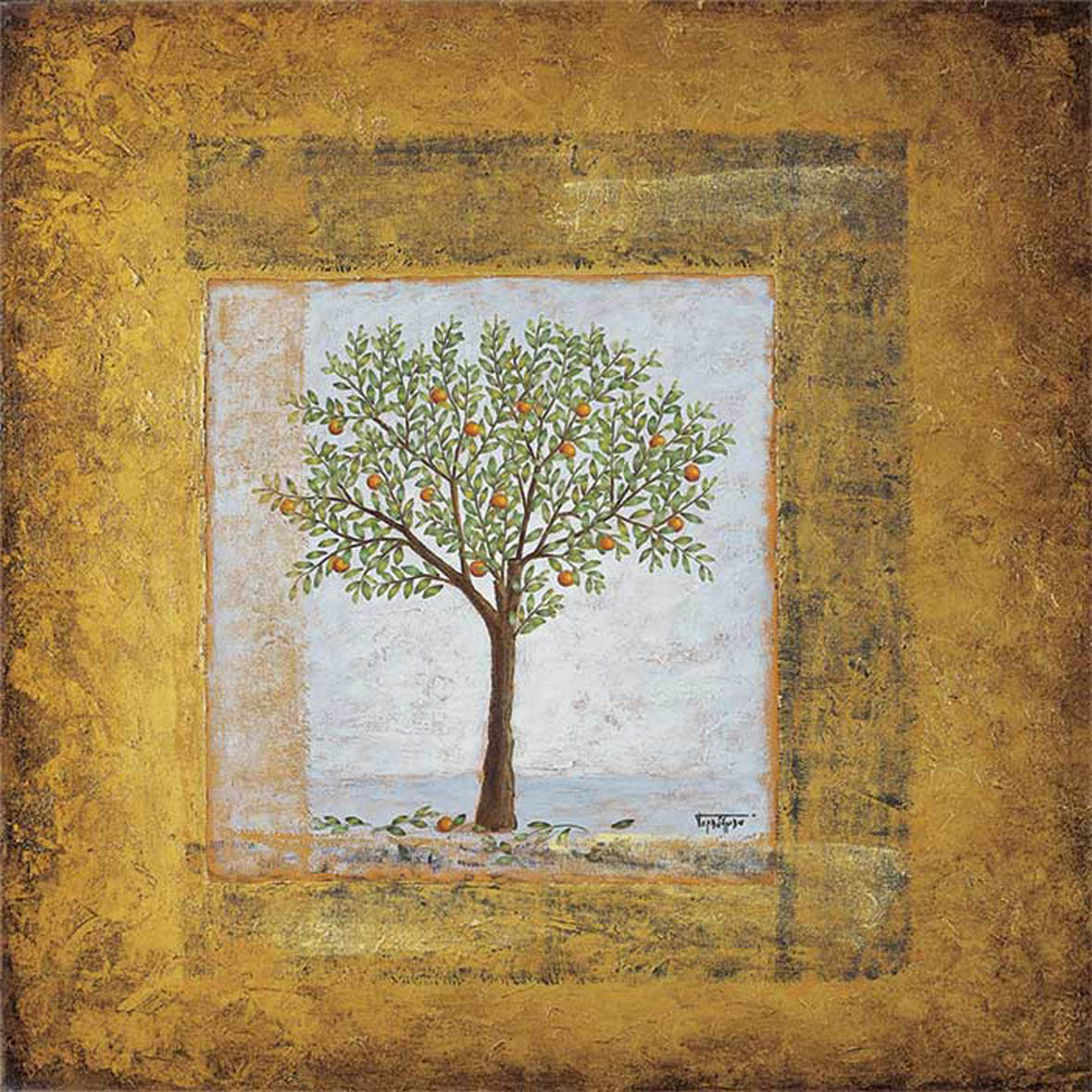 Orange Tree ~ SOLD