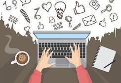doodle-blogging-concept_23-2148011268_ed