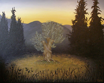 The Adoration of the Olive Tree ~ SOLD