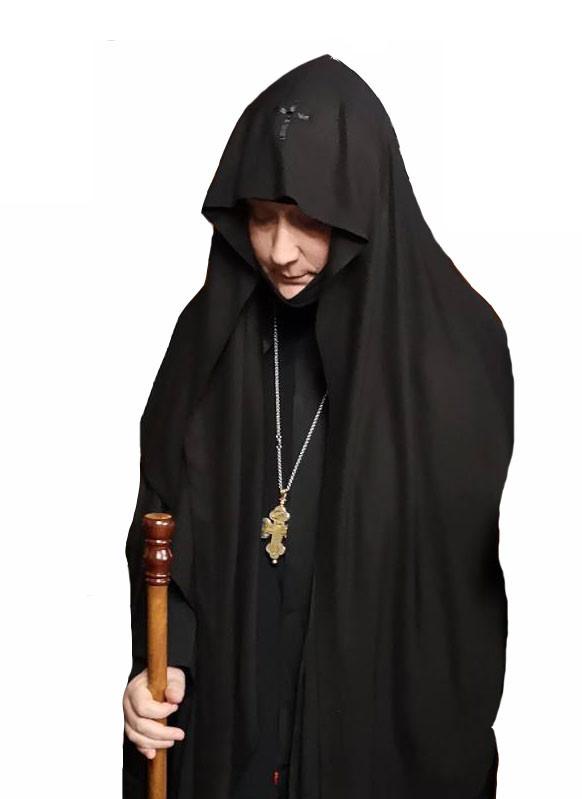 H τρίτη κατά σειρά ηγουμένη της μονής Αγίου Εφραίμ στη Νέα Μάκρη, Μακαρία Β'