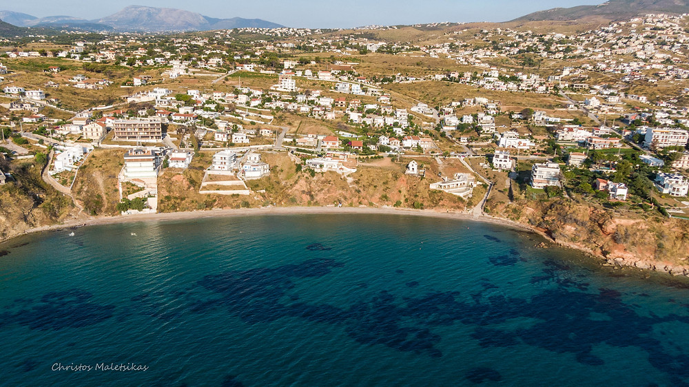 Η παραλία το Κόκκινο Λιμανάκι | Φωτ.: Χρήστος Μαλέτσικας