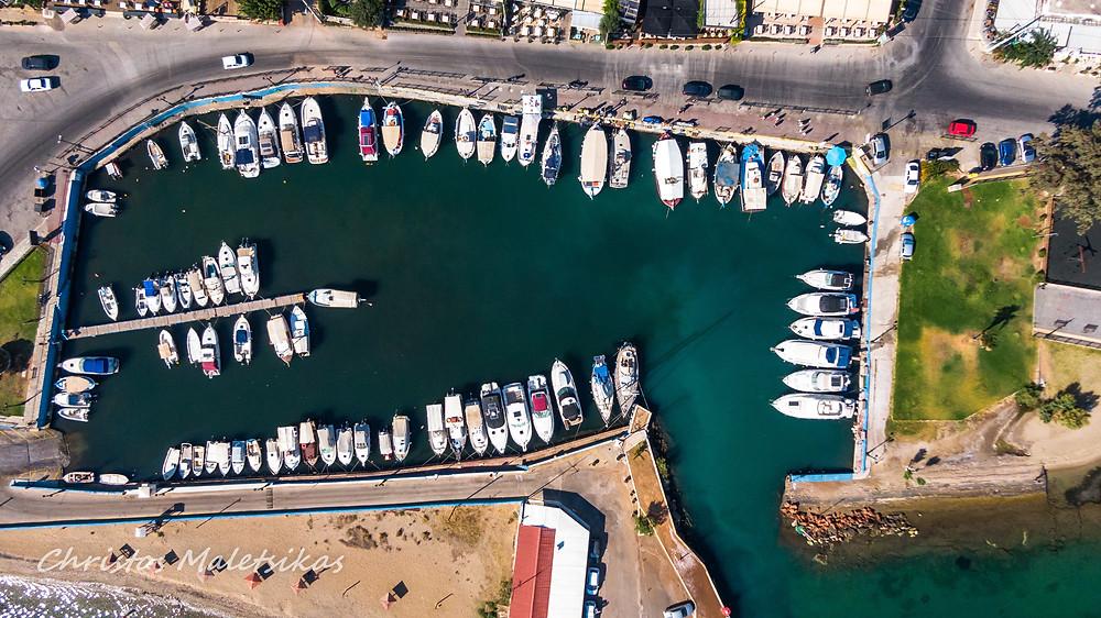 Το λιμανάκι Νέας Μάκρης εν ετη 2020 | φωτογράφος Χρήστος Μαλέτσικας