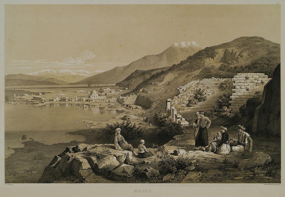 Η Μάκρη το 1847.
