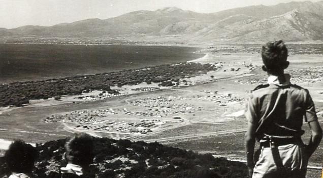 Εντύπωση προκαλούσε η τεράστια έκταση της κατασκήνωσης Μαραθώνα