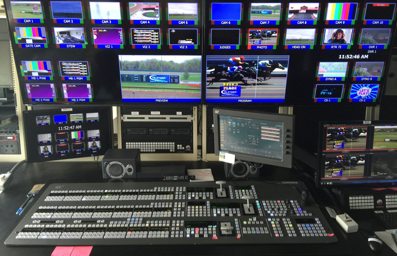 Thoroughbred HD TV Control Room