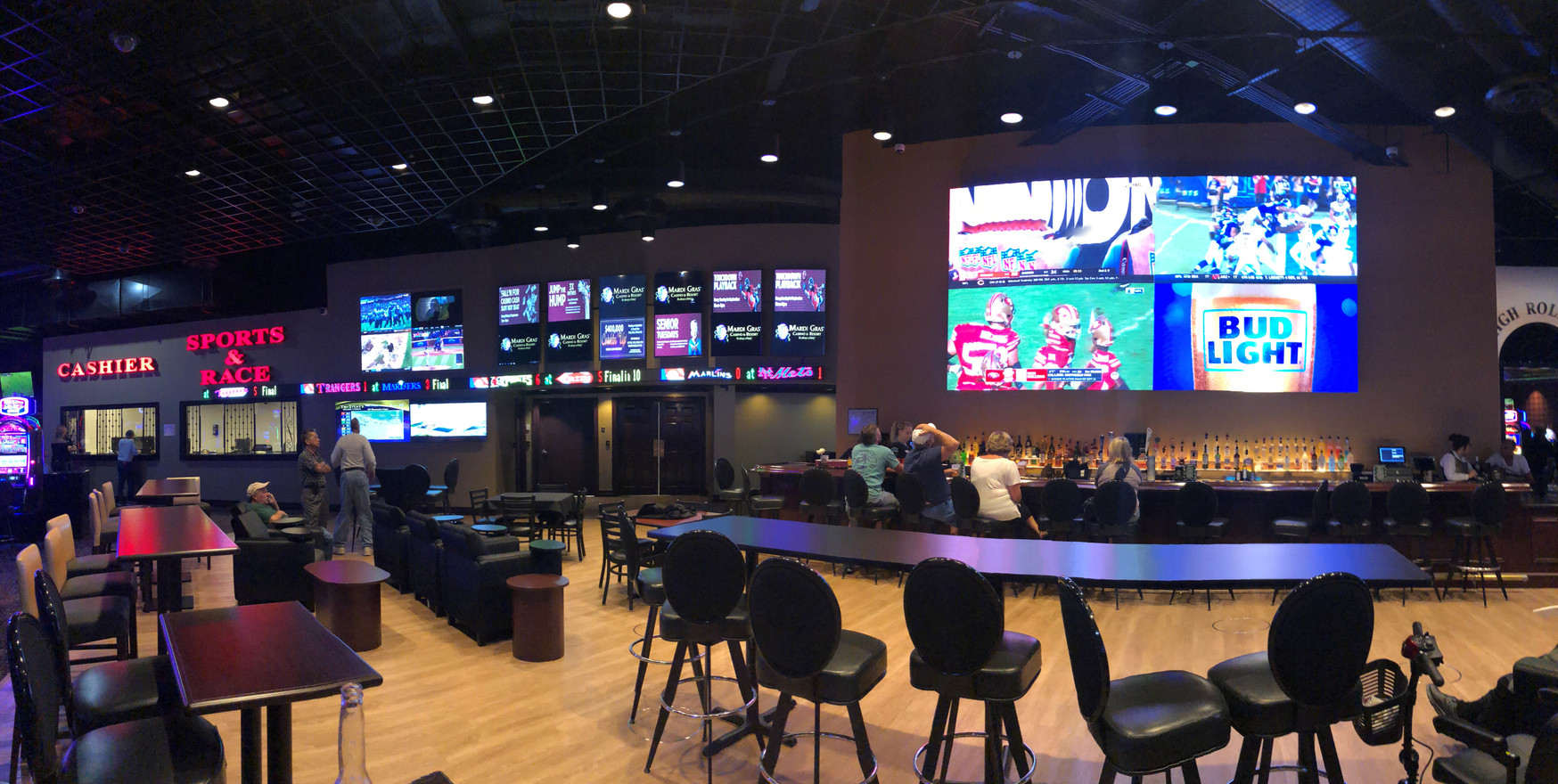 Mardi Gras Casino, WV Sports Book